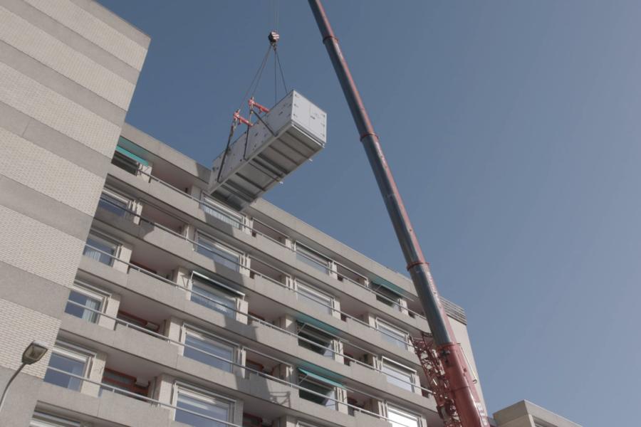 Reduses Circulair voor seniorencomplex Rosenburch in Leiden